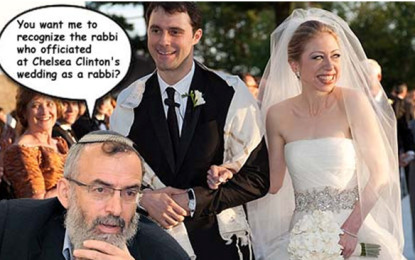 Rabbi's Chelsea Clinton Jewish Status Quip Stressing Tear with Reform