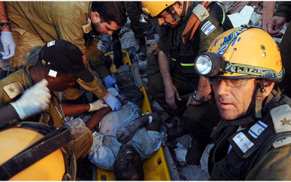 Disaster response team boosts Israel's image abroad/by Shlomi Eldar