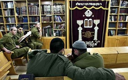 30,000 Haredim Receive Their Army Exemptions/by Shalom Bear