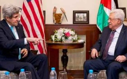 Coalition with Hamas will recognize Israel, Abbas tells Kerry By Michael Wilner