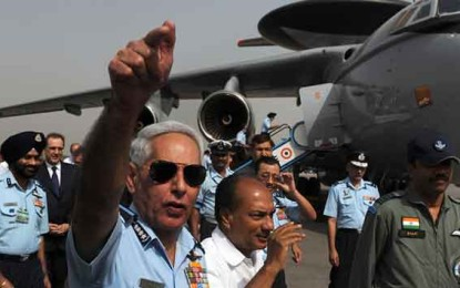Israel and India, a Match Made in the U.S., Develop Their Own Military Romance by Mark Bergen