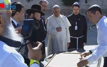 Rabbi Shmuel Rabinowitz, Rabbi of the Kotel and the pope