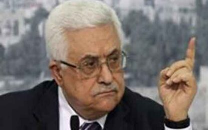 Mahmoud Abbas Speaks to Israelis, the West and Palestinians by C. Jacob