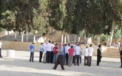 Temple Mount Closed to Muslims – War Does Not Break Out By: Shalom Bear