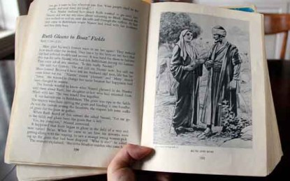 A Convert's Bible Stories: How a Christian Book Introduced Me to Ruth and David By C. A. Blomquist