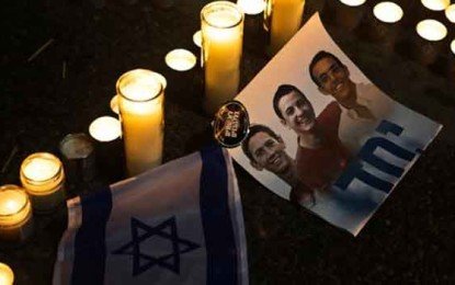 """The Murderers of Eyal, Gilad and Naftali are not """"Human Animals"""" by Lea Speyer"""