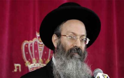 "Leading Rabbi Praises Zionist Christians: ""More Exalted than Cyrus"" By Ahuva Balofsky"