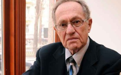 Another Blood Libel Against Israel By Alan Dershowitz
