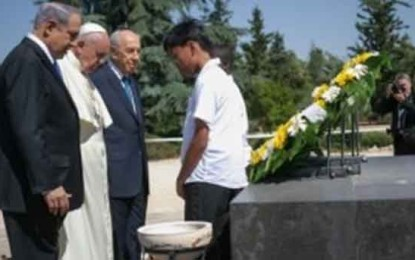 Pope Discusses Persecution of Christians With Jewish Leaders: First it Was Your Turn Now it's Ours by Shiryn Ghermezian