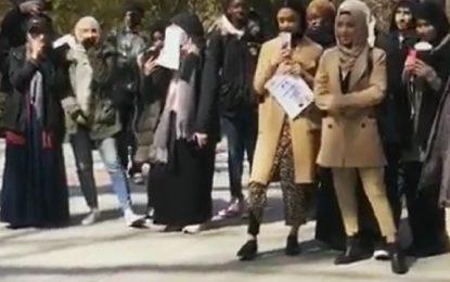 Brooklyn College Students Call for 'Intifada' in Christchurch Attack Vigil byby Algemeiner Staff