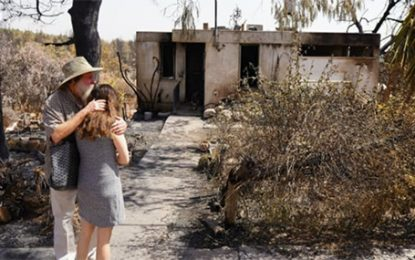aChristians and Jews Join to Help Israeli Community Devastated by Fire [Watch] By Adam Eliyahu Berkowitz
