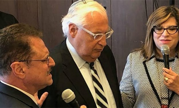 US Ambassador Calls on Evangelical Leaders to Fight Anti-Semitism