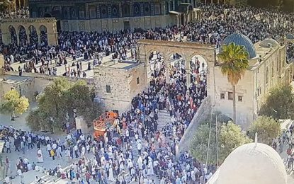 ISRAELI WATCHDOG ACCUSES PA OF PLOTTING TEMPLE MOUNT VIOLENCE