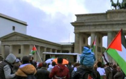 Berlin Authorities Ban Antisemitic Rappers From Anti-Israel Rally at Brandenburg Gate