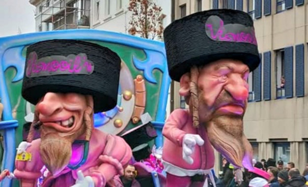 sBelgian Jewish Leaders Hit Out at Government-Funded Anti-Racism Body Over Antisemitic Carnival Images by Ben Cohen